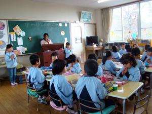 柳井幼稚園 昼食